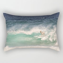 ALPACA - SURFING HAWAII Rectangular Pillow