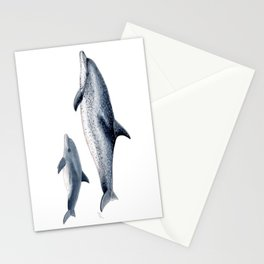 Atlantic spotted dolphin Stationery Cards