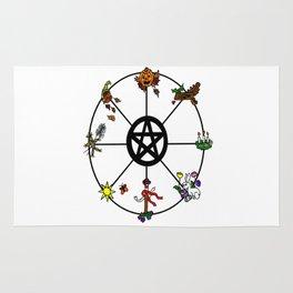 Wheel Of Seasons Rug