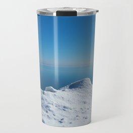 Blue ice Travel Mug