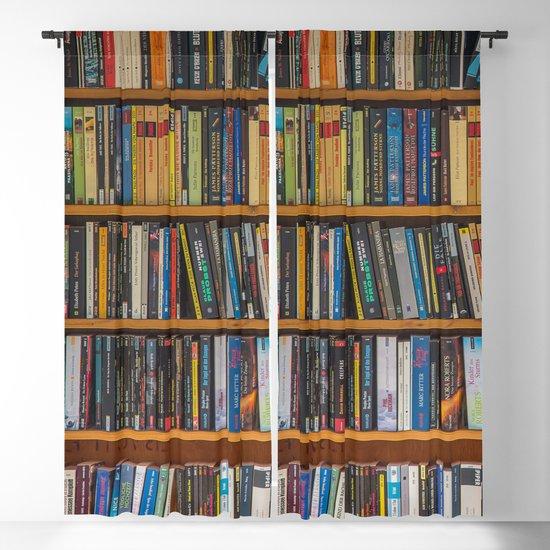 Bookshelf Books Library Bookworm Reading Pattern by shirtsandgifts