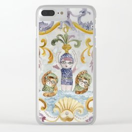 École des Sirènes - Mermaid School Clear iPhone Case