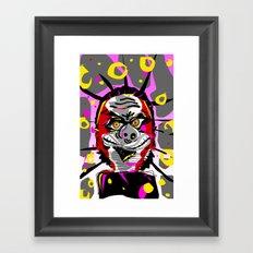 Japanese Memory Demon Framed Art Print