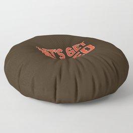 Let's Get Baked Floor Pillow