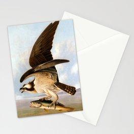 John James Audubon Osprey and Weakfish Stationery Cards