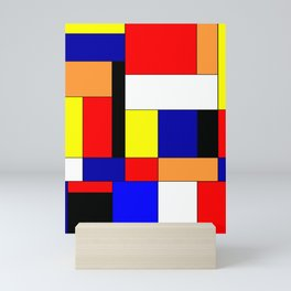 Mondrian #9 Mini Art Print