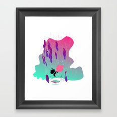 fall in Framed Art Print