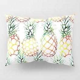 Retro Pineapples Pillow Sham