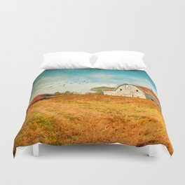 Peaceful Day's Duvet Cover