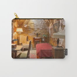Al Capone's Luxurious Prison Cell Carry-All Pouch