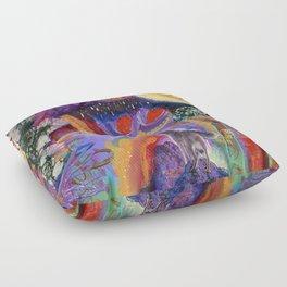 Amethyst Floor Pillow