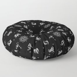Zodiac Menagerie Floor Pillow