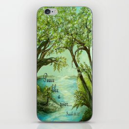 Peace Like a River iPhone Skin