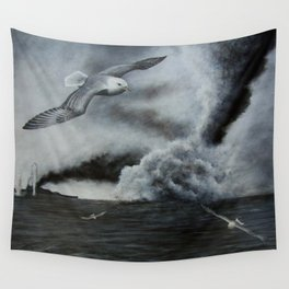 THE SINKING Wall Tapestry