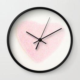 Furry heart Wall Clock