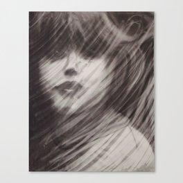 Rained Glass Canvas Print