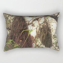 'Ohi'a Aerial Roots Rectangular Pillow