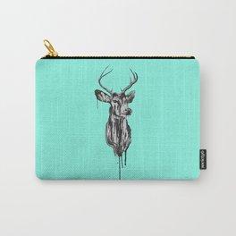 Deer Head III Carry-All Pouch