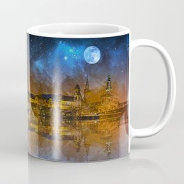 Dresden At Night Coffee Mug