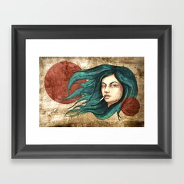 """""""Lune Dust"""" by carographic Framed Art Print"""