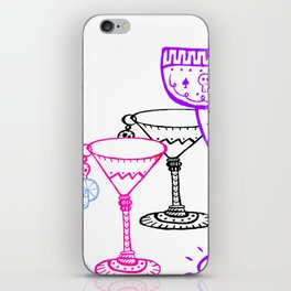 Day-Of-The-Dead-Art iPhone Skin