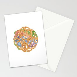 Celtic Knot with Dragons Stationery Cards
