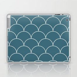 Scales - blue Laptop & iPad Skin