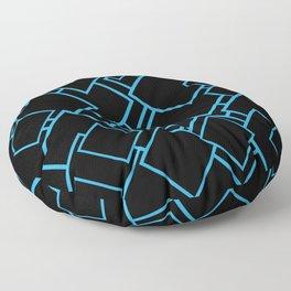 square pattern Floor Pillow