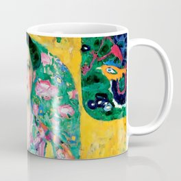 "Gustav Klimt ""Eugenia Primavesi"" Coffee Mug"