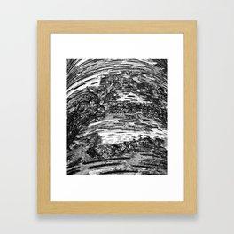 Brocken Framed Art Print
