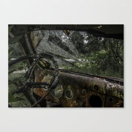Dashed Board Canvas Print