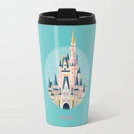 Florida Magic Kingdom Castle Travel Mug
