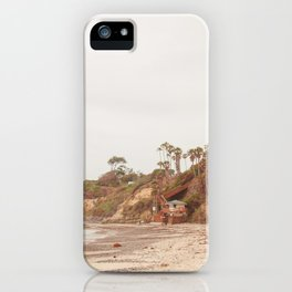 San Diego Coast iPhone Case