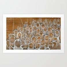 Twiglots Art Print