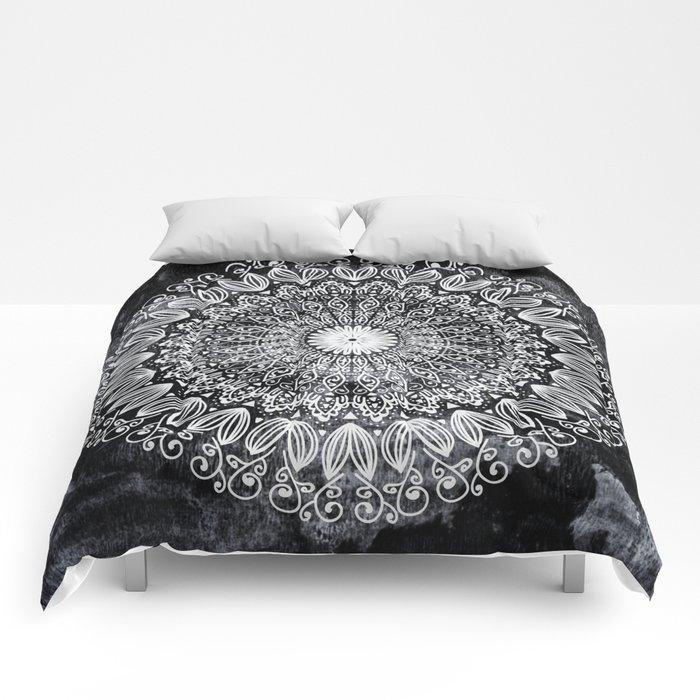 ORGANIC BOHO MANDALA Comforters