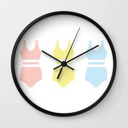 Bathing Suit Wall Clock