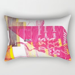 As Life is Life was Rectangular Pillow