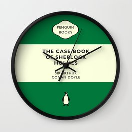Sir Arthur Conan Doyle - The Case-Book of Sherlock Holmes Wall Clock