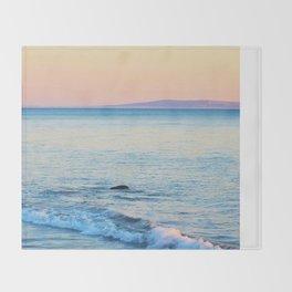 Sunset Surf Throw Blanket
