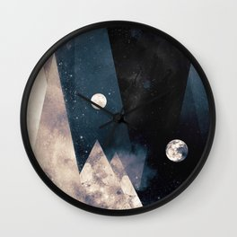 Escape, from planet earth Wall Clock