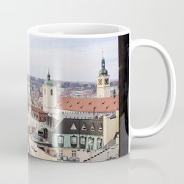 Window to Prague Coffee Mug