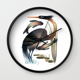 The Heron Wall Clock