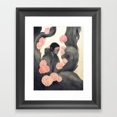 Not a Part of This Framed Art Print