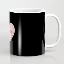 I Love Mississippi Simple Heart Design Coffee Mug