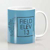 jfk Mugs featuring JFK II by 08 Left