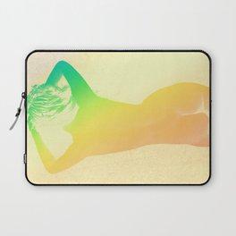 Carefree Summer Deep Pastels Laptop Sleeve