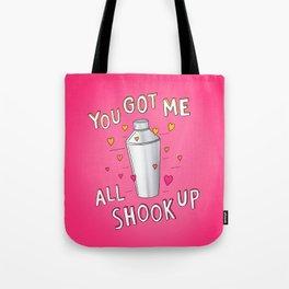 You Got Me All Shook Up Tote Bag