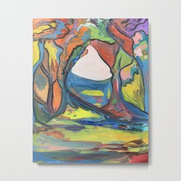 Fauvist Forest Metal Print
