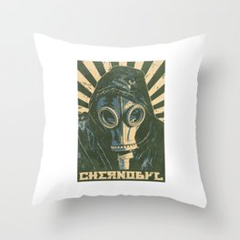 Chernobyl Remember Throw Pillow