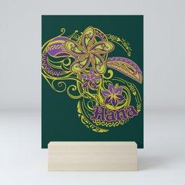 Hana Maui Tribal Threads Mini Art Print